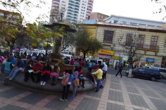 ボリビアの旅(44) ラパスのホテル・エウロパ EUROPAへ_c0011649_23392747.jpg