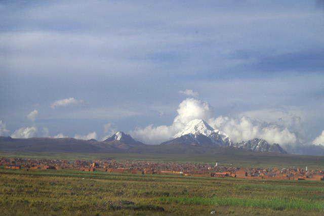 ボリビアの旅(43) ティワナクからラパスへ戻る。_c0011649_645212.jpg