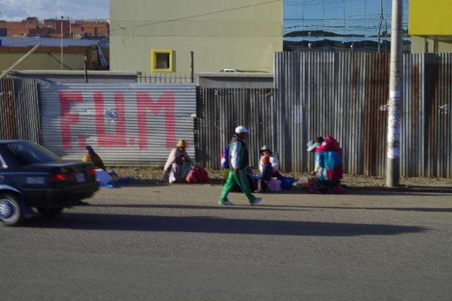 ボリビアの旅(43) ティワナクからラパスへ戻る。_c0011649_721962.jpg