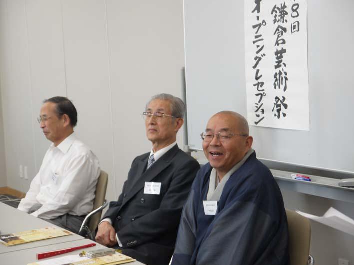 第8回鎌倉芸術祭 オープニングレセプション:2013・9・12_c0014967_22282125.jpg