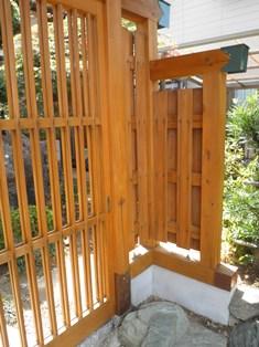 数寄屋門の修理完成しました_b0232198_11251530.jpg