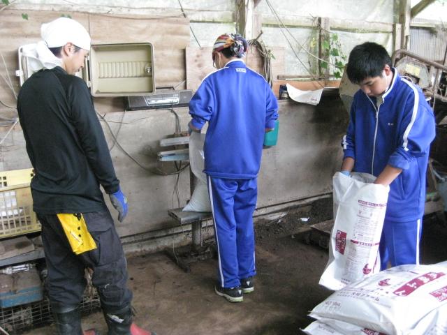中学生の職場体験2校目 3日目_d0139806_222970.jpg