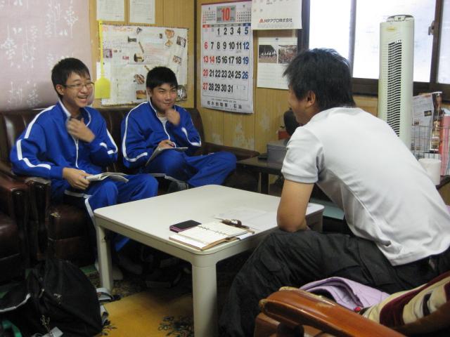 中学生の職場体験2校目 3日目_d0139806_223168.jpg