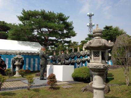 平成25年度 自衛隊福島県出身殉職隊員追悼式_f0259324_16103971.jpg