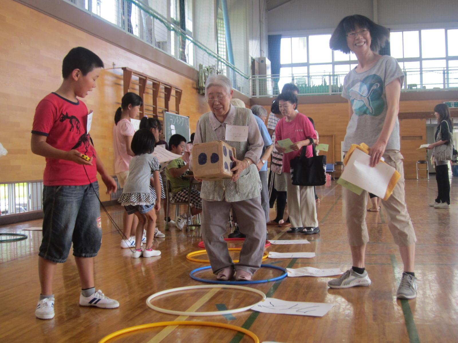 第一上田小学校金城っこ感謝祭見学_e0168632_2134407.jpg