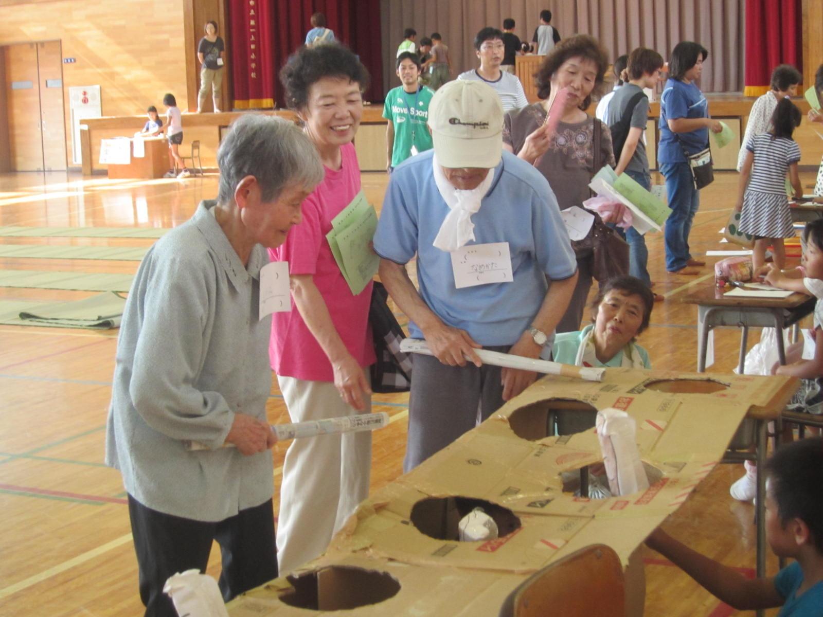第一上田小学校金城っこ感謝祭見学_e0168632_2135243.jpg