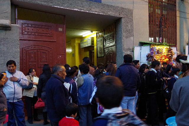 ボリビアの旅(44) ラパスのホテル・エウロパ EUROPAへ_c0011649_0214348.jpg