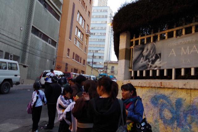 ボリビアの旅(44) ラパスのホテル・エウロパ EUROPAへ_c0011649_022013.jpg