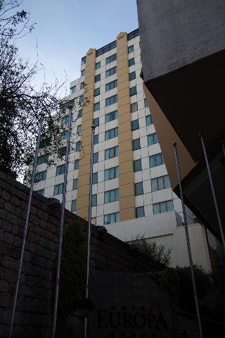ボリビアの旅(44) ラパスのホテル・エウロパ EUROPAへ_c0011649_0234460.jpg