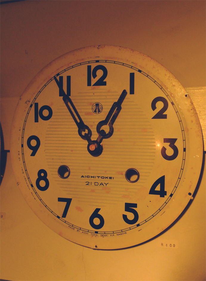 Reproduction clocks追加。_f0068850_18523416.jpg