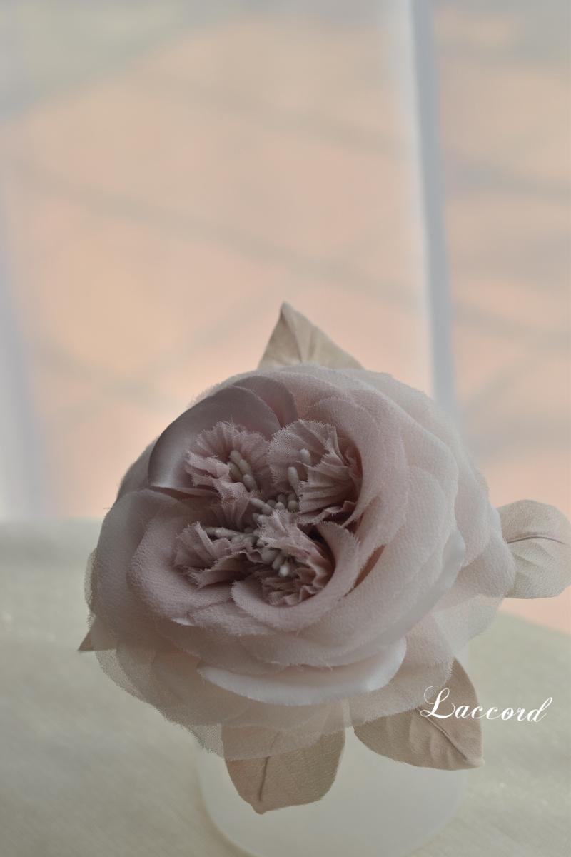 薔薇のコサージュ_f0275956_1202218.jpg