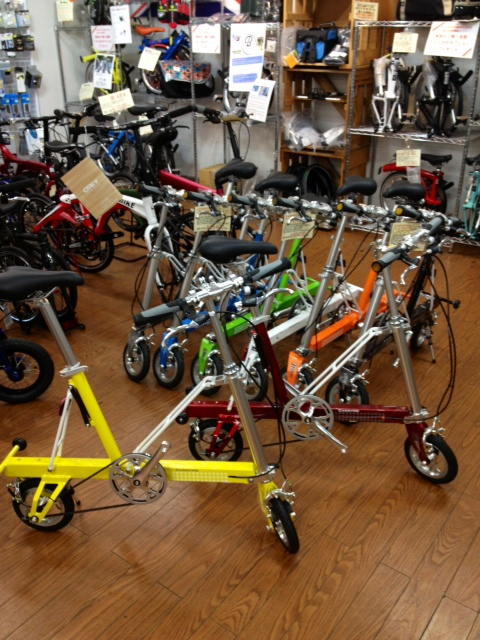 ... 秀岳荘自転車売り場だより