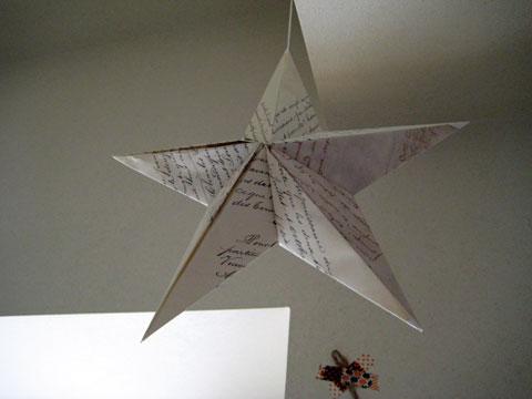 クリスマス 折り紙 折り紙 立体 星 : samaecafe.exblog.jp
