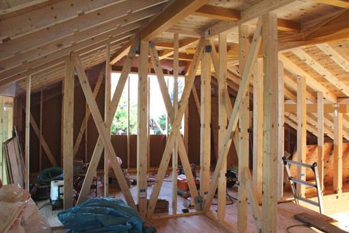 Q1住宅-X3青森:屋根構面GW400mm_e0054299_159075.jpg
