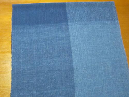 藍染強撚ストール、できました_e0221708_21361855.png