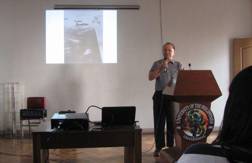 「日本占領下のバギオ市」 フィリピン大学バギオ校での講演会_a0109542_18461138.jpg