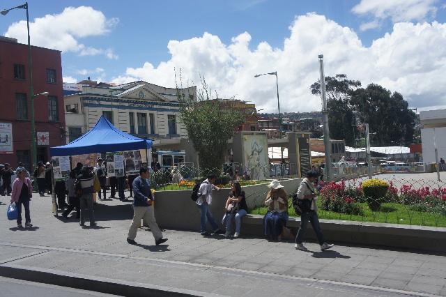 ボリビアの旅(45) ラパス、リマ、ニューアーク、帰国 _c0011649_0461137.jpg