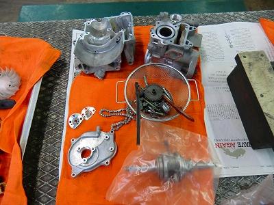 ズーマー エンジン完成!_e0114857_19405899.jpg