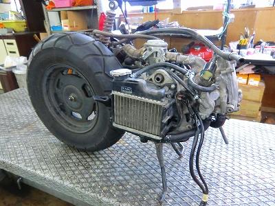 ズーマー エンジン完成!_e0114857_19485025.jpg