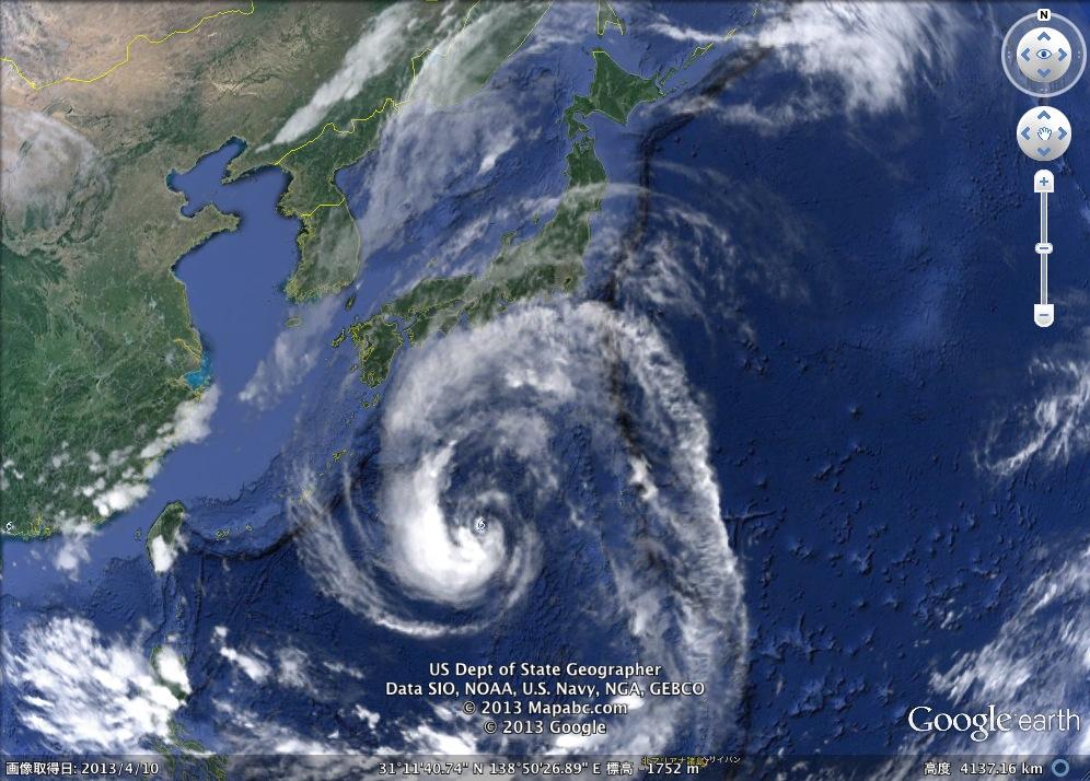台風18号「サンデー・マンニー」日本を襲う!:HAARP暗躍か?_e0171614_2182571.jpg