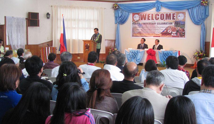 フィリピン・北ルソンの日系人 移民110周年を祝う Triple Anniversary, in Baguio_a0109542_161668.jpg