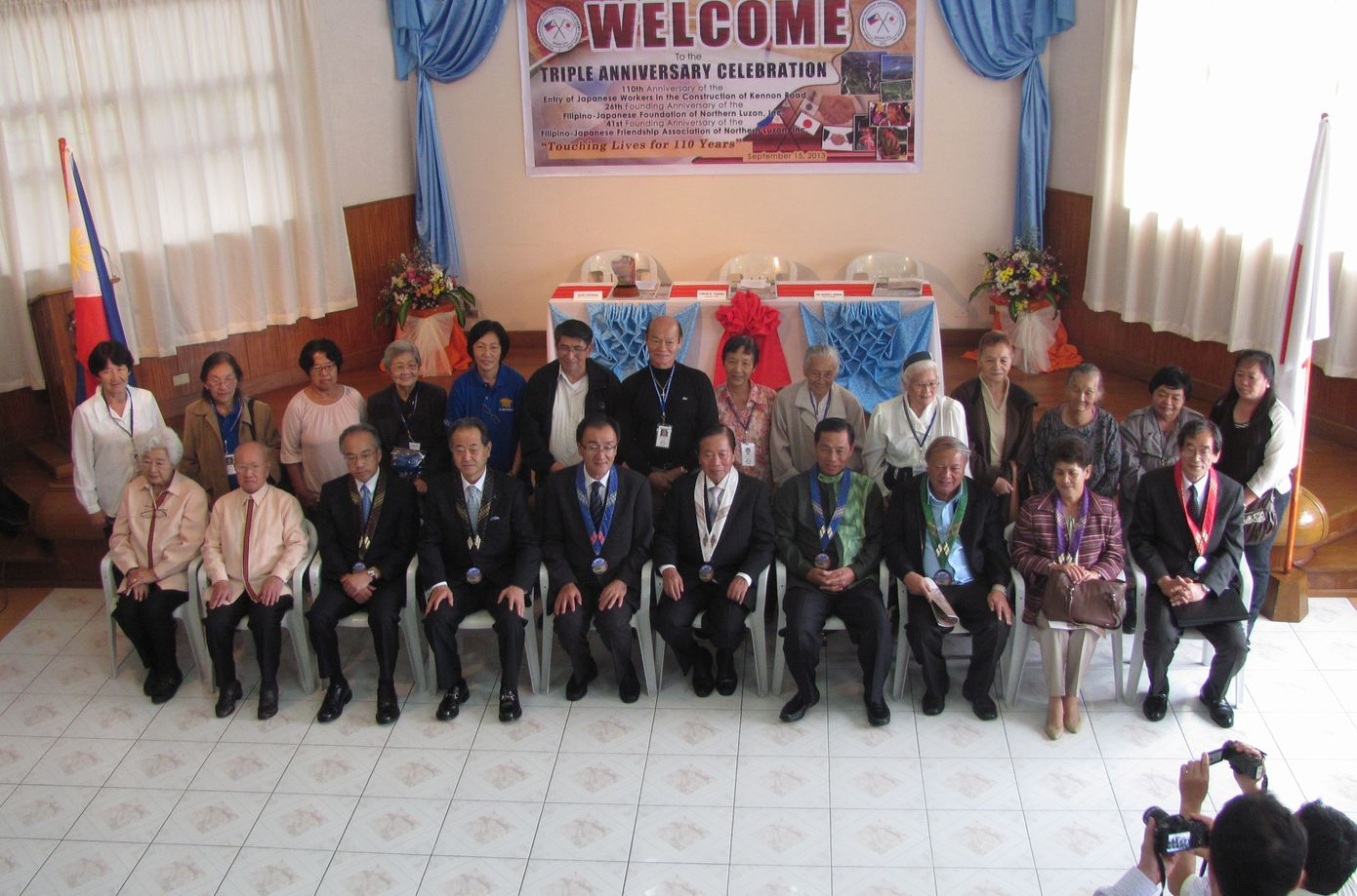 フィリピン・北ルソンの日系人 移民110周年を祝う Triple Anniversary, in Baguio_a0109542_16243914.jpg