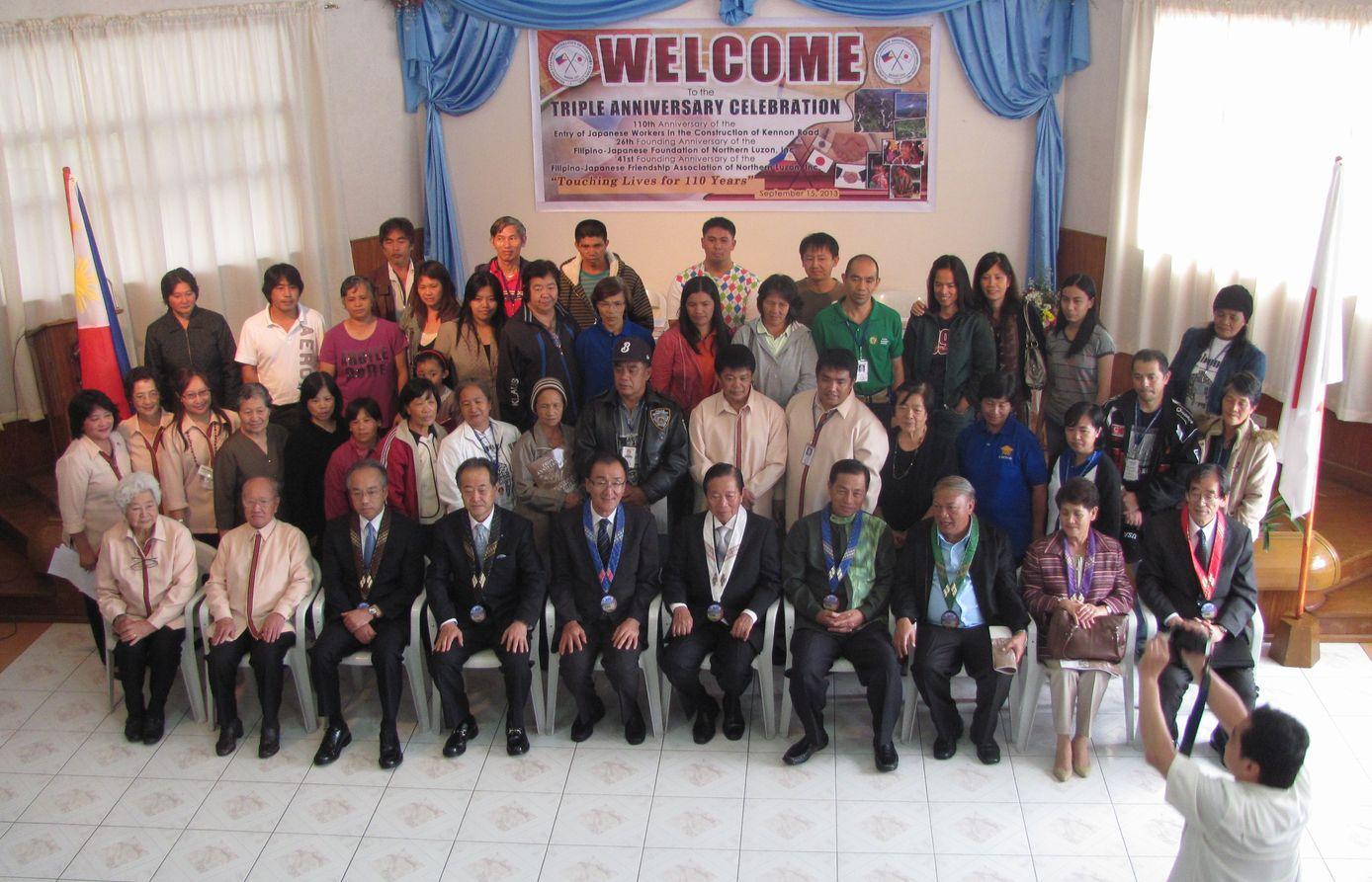 フィリピン・北ルソンの日系人 移民110周年を祝う Triple Anniversary, in Baguio_a0109542_16282118.jpg