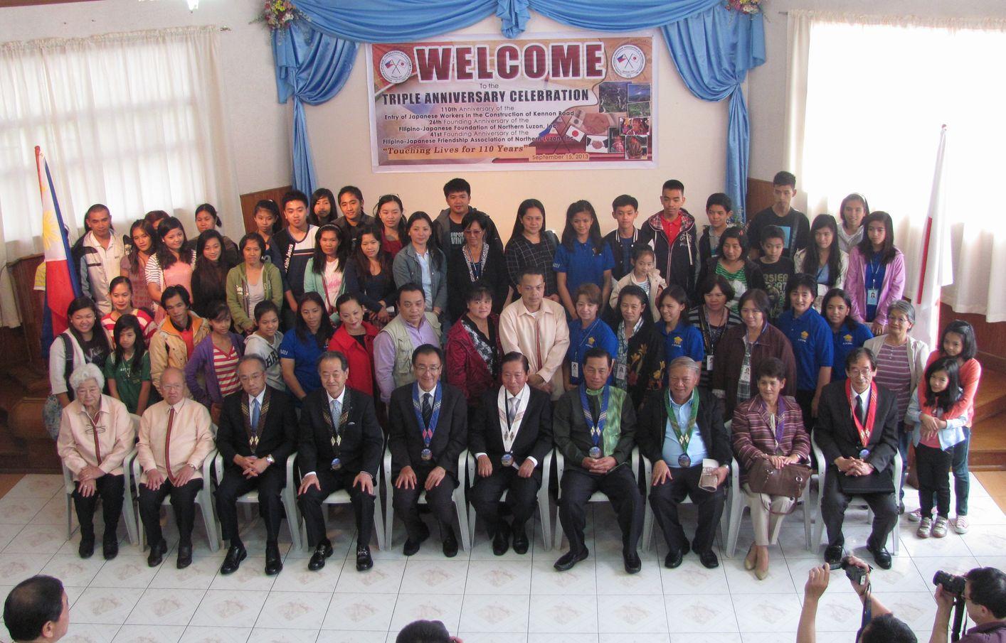フィリピン・北ルソンの日系人 移民110周年を祝う Triple Anniversary, in Baguio_a0109542_16291312.jpg