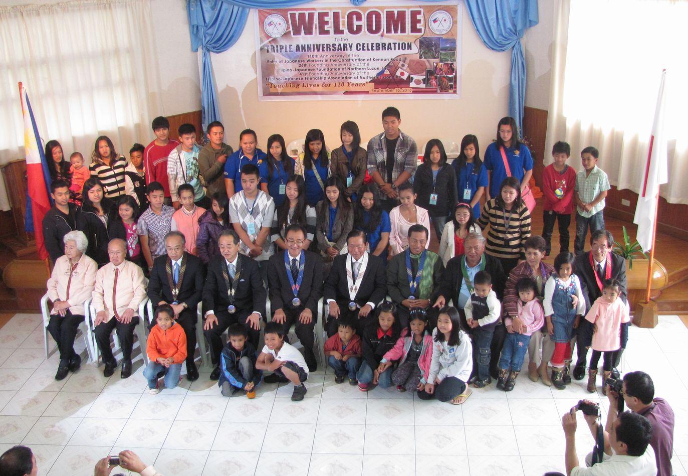 フィリピン・北ルソンの日系人 移民110周年を祝う Triple Anniversary, in Baguio_a0109542_16295137.jpg