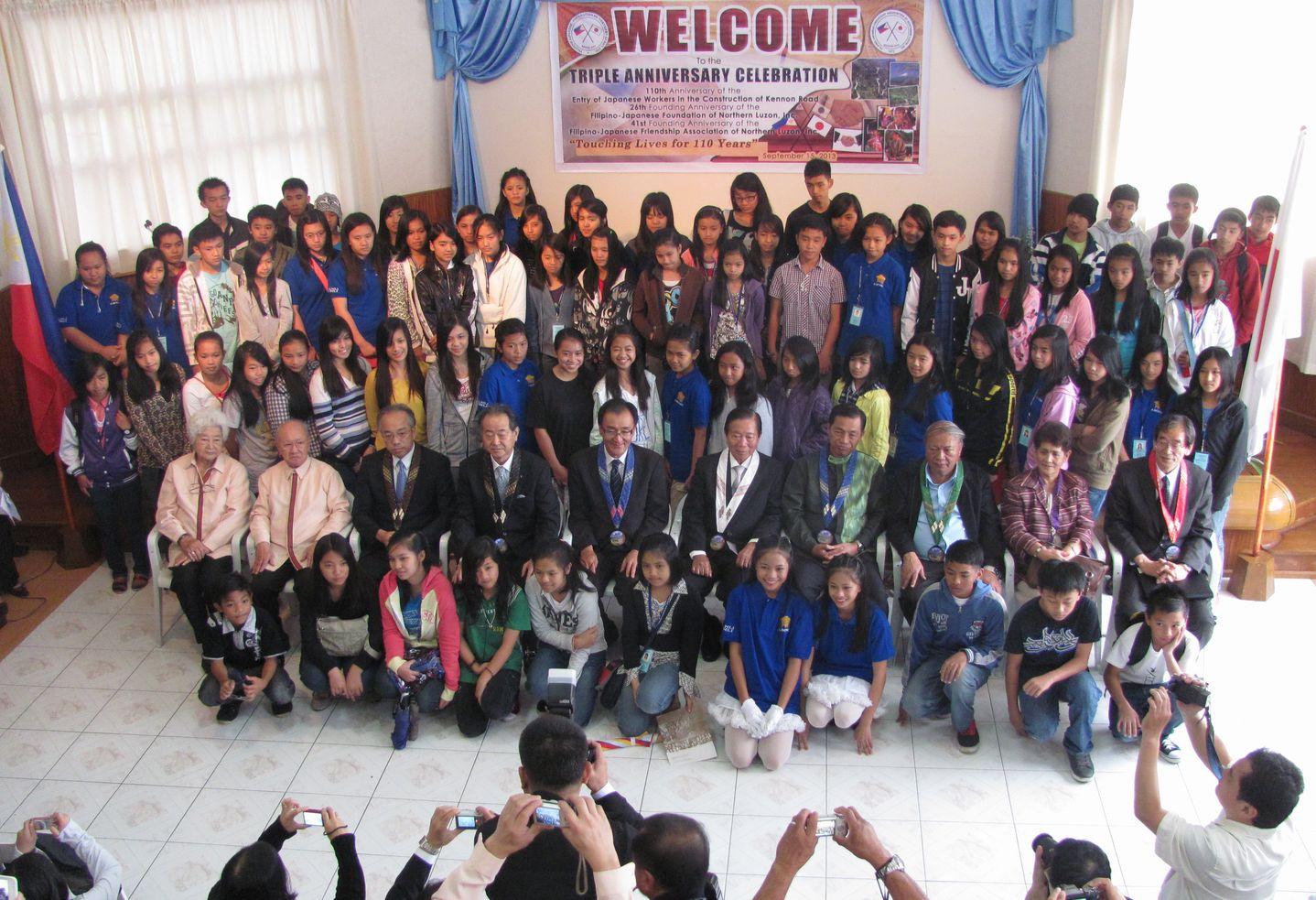 フィリピン・北ルソンの日系人 移民110周年を祝う Triple Anniversary, in Baguio_a0109542_16304425.jpg