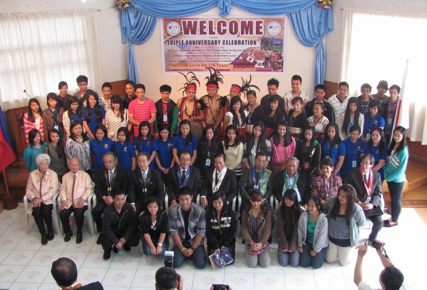フィリピン・北ルソンの日系人 移民110周年を祝う Triple Anniversary, in Baguio_a0109542_16313765.jpg