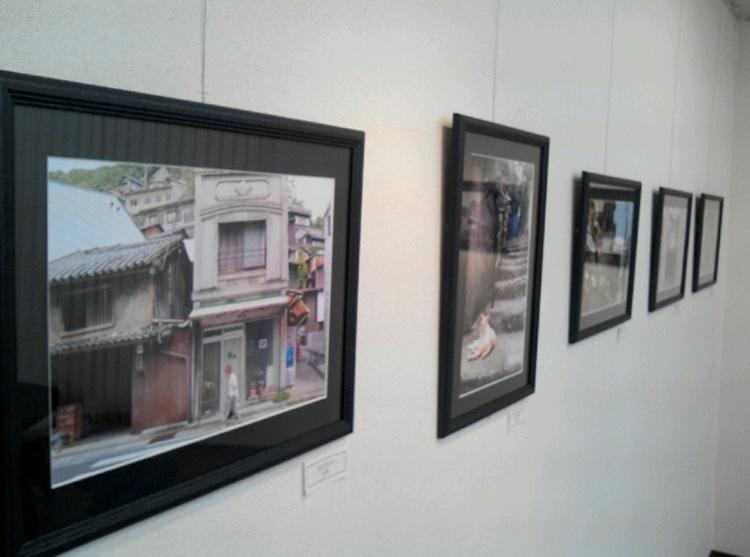 古い町並の夏を写す-個展訪問-_d0328255_2091467.jpg