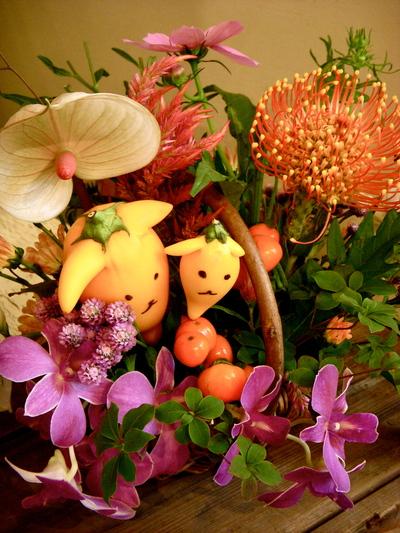 かわいい芸術家・敬老の日の花贈り。。。_a0229658_794821.jpg