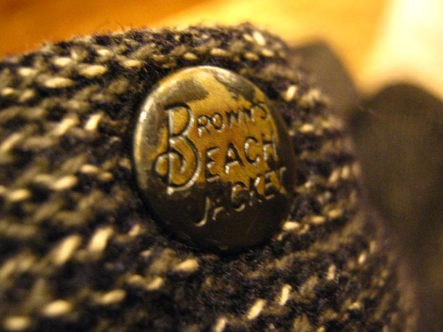 『Brown\'s Beach Jacket!!』_b0121563_1613511.jpg