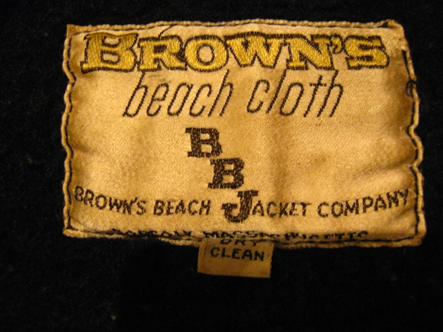 『Brown\'s Beach Jacket!!』_b0121563_16184728.jpg