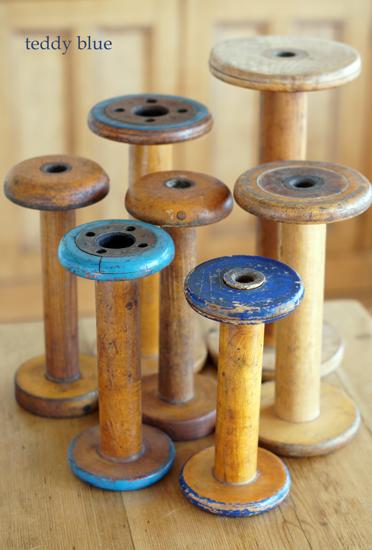 vintage spools  ヴィンテージの糸巻き_e0253364_10491640.jpg