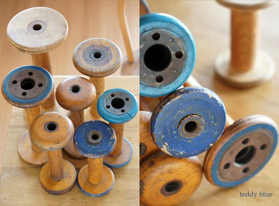 vintage spools  ヴィンテージの糸巻き_e0253364_1049279.jpg