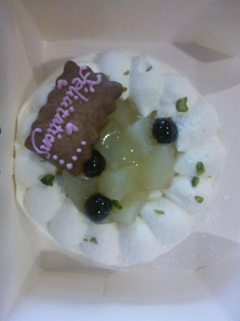 敬老の日のケーキ_d0154707_11342628.jpg