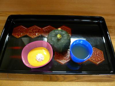 9/15かぼちゃプリン(^◇^)_a0154110_9182777.jpg