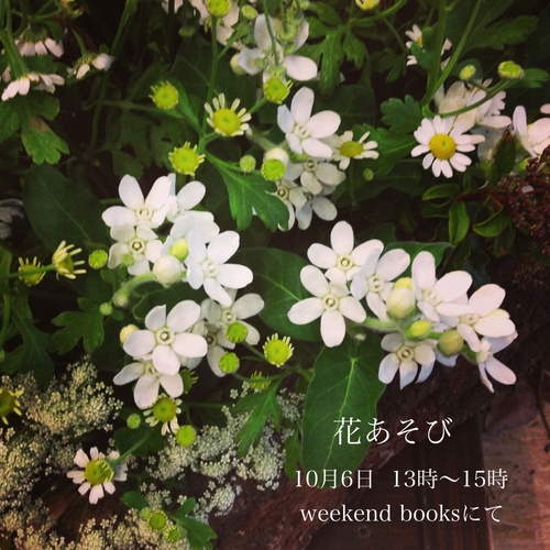 「花あそび」のお知らせ。_e0060555_15423770.jpg