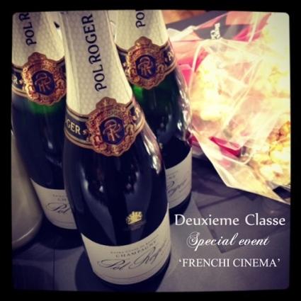★Deuxieme Classe秋立ち上がりイベント'FRENCHI CINEMA'へ・・・_b0189667_200252.jpg