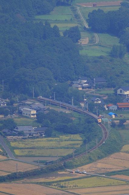 2013年9月 刈り入れ終わる福知山線_f0233120_21513534.jpg