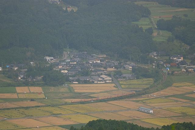 2013年9月 刈り入れ終わる福知山線_f0233120_21525795.jpg