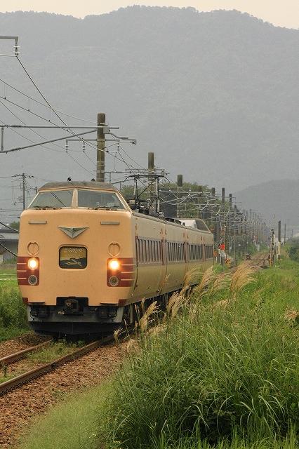 2013年9月 刈り入れ終わる福知山線_f0233120_22135010.jpg