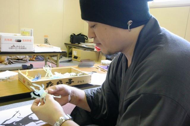 おとどけアート 9月10日(火) 北陽小学校×佐藤隆之 その4_a0062127_152072.jpg