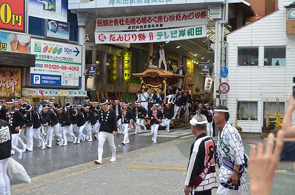 岸和田だんじり祭_e0164563_1273923.jpg