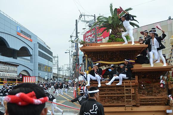 岸和田だんじり祭_e0164563_1285144.jpg
