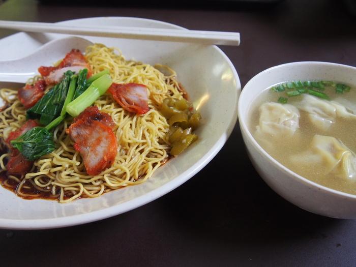 2013 9月 シンガポール(22)   雲呑麺 文記@Clementi Food Centre_f0062122_8165015.jpg