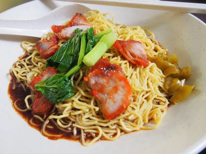 2013 9月 シンガポール(22)   雲呑麺 文記@Clementi Food Centre_f0062122_8171064.jpg