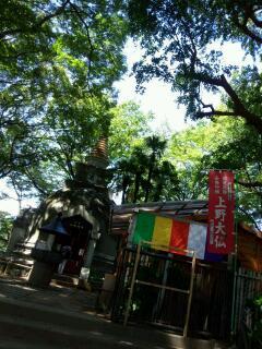 上野の神々の元へご挨拶周り_f0008555_18152670.jpg